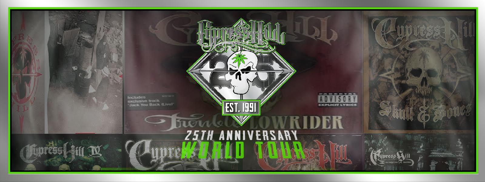 Cypress Hill World Tour 2016