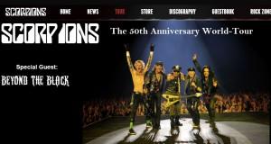Scorpions Tour 2016