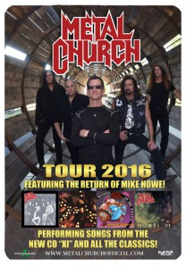 Tour Metal Church Poster 2016