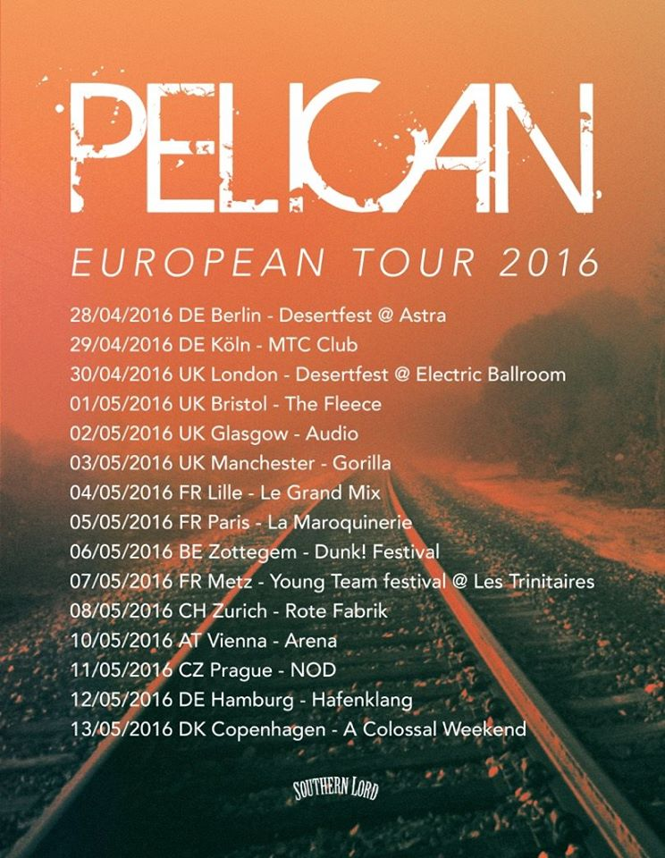 Pelican Tour Europa 2016