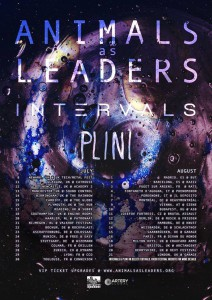 Animals As Leaders Tour Plakat