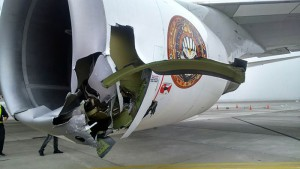Ed Force One Unfall